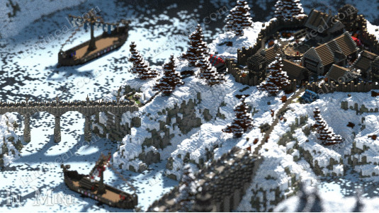 Fantasy Viking Village - Spawn