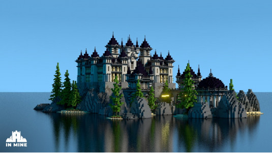 Palace on Cliffs | Large Hub