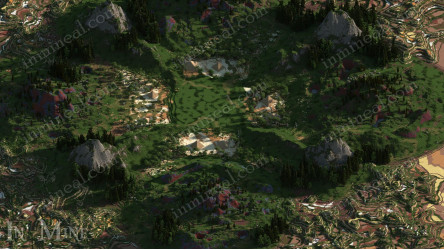 Fantasy Forest Warzona 1500x1500