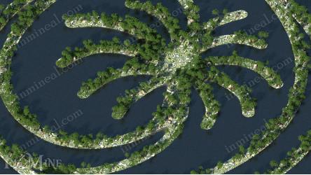Warzona 1000x1000 Island Palm