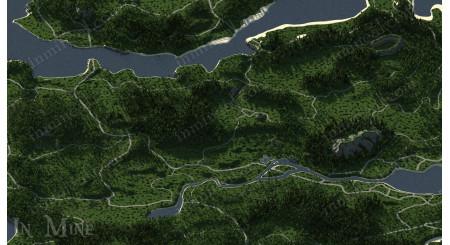 PUBG MAP ERANGEL (MINI)